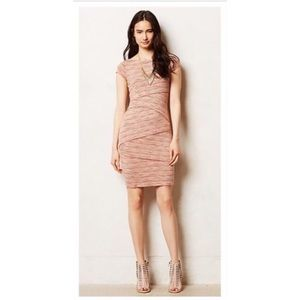 ANTHROPOLOGIE bandage dress